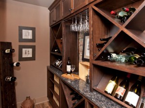 The Mill House - Wine Cabinet
